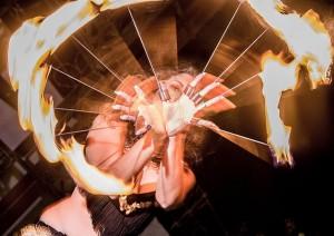 Malta fire jugglers