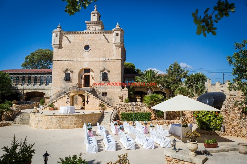 Weddings In Malta Fairy Tale Castle Wedding Venue
